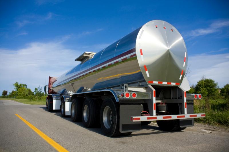 bulk water tanker